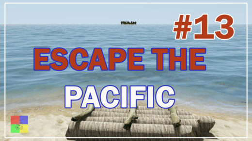 Escape-The-Pacific-13-выжили-строим-плот