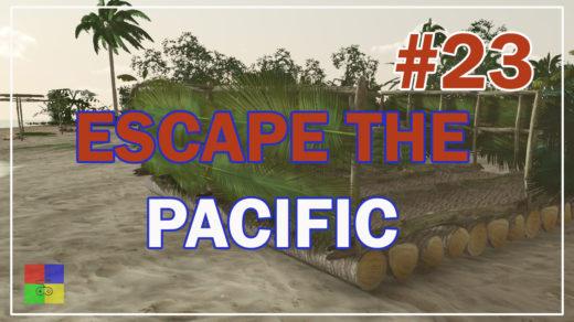 Escape-The-Pacific-прохождение-23-Плот-3