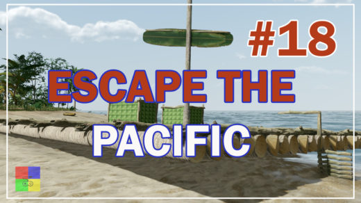 Escape-The-Pacific-18-Плотно-засели.-Мачта.-Руль.