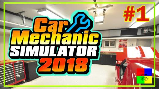 Car mechanic simulator 2018 #1 ♦ ГАРАЖ. НАЧАЛО ♦