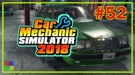 Car-mechanic-simulator-2018-прохождение-52-Мастерская-mercedes-benz