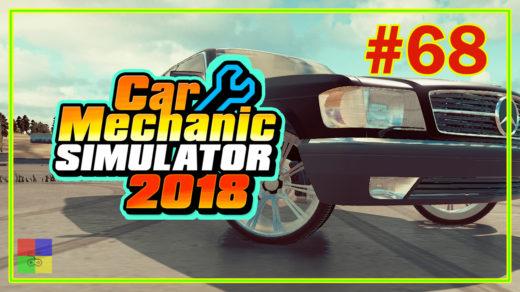 Car-mechanic-simulator-2018-прохождение-66-Mercedes-Benz-W126-560SEC-Eps-2