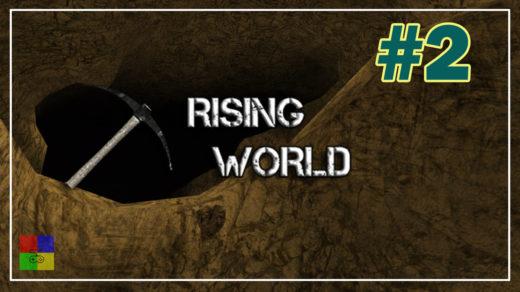 Rising-World-прохождение-2-Пещера