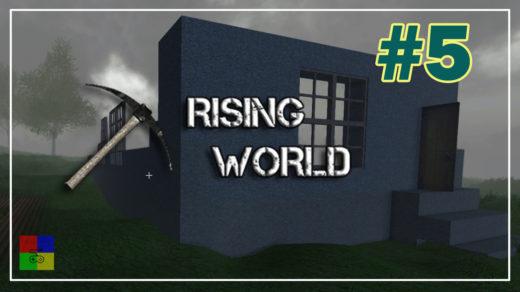 Rising-World-прохождение-5-Серебро.-Окна.-Огород.