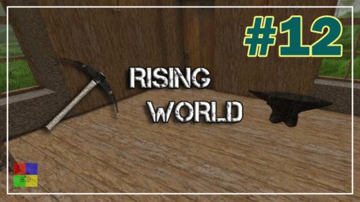 Rising-World-прохождение-12-Накавальня.-Ткатцкий-станок.-Стрелы.