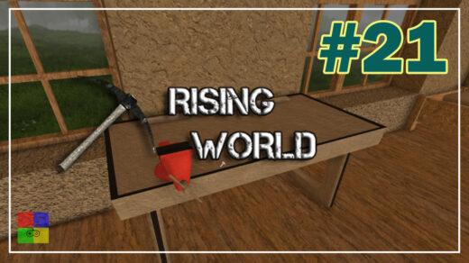 Rising-World-прохождение-21-Современный-верстак