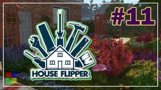 house-flipper-прохождение-11-Дивный-сад