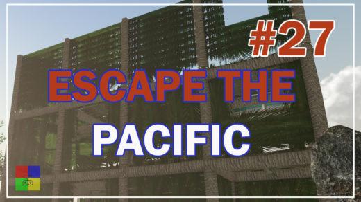 Escape-The-Pacific-прохождение-27-Строим-3-этаж