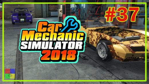 Car-mechanic-simulator-2018-прохождение-37-реставрация