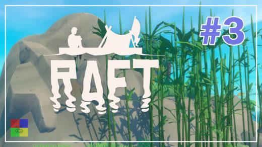 Raft-прохождение-3-Остров