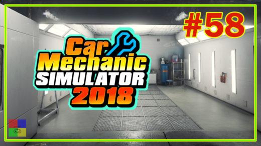 Car-mechanic-simulator-2018-прохождение-58-Начинаем-реставрировать