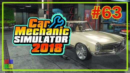 Car-mechanic-simulator-2018-прохождение-63-Mercedes-Benz-W113