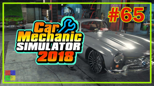 Car-mechanic-simulator-2018-прохождение-65-Mercedes-Benz-W198-300SL