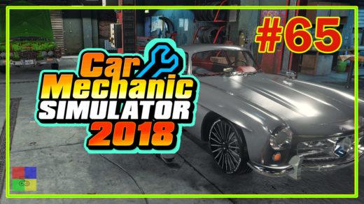 Car-mechanic-simulator-2018-прохождение-65-Mercedes-Benz-W198-300SL