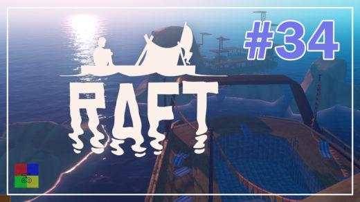 Raft-прохождение-34-Новые-координаты