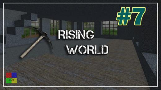 Rising-World-прохождение-7-Закончили-1-этаж