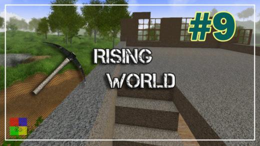 Rising-World-прохождение-9-Строим-2-этаж