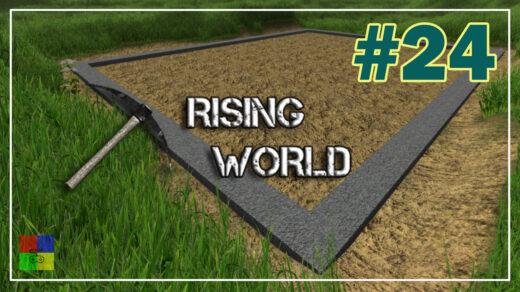 Rising-World-прохождение-24-Фундамент