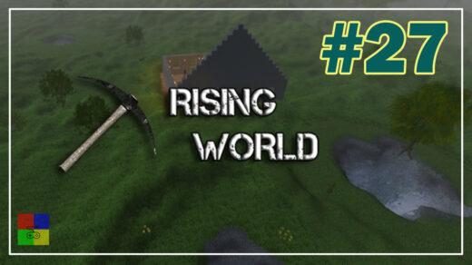 Rising-World-прохождение-27-Крыша-конюшни