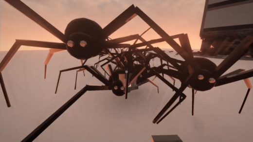 Поклонники-придумали-как-заполнить-Teardown-гигантскими-пауками