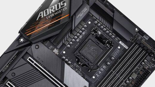Первая-материнская-плата-Intel-Rocket-Lake-Z590-выглядит-как-разгоняющий-зверь-Z490-mobo