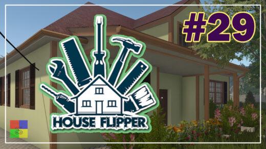 house-flipper-прохождение-29-Сад-после-наводнения