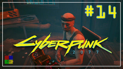 cyberpunk-2077-прохождение-14-Горящий-хер