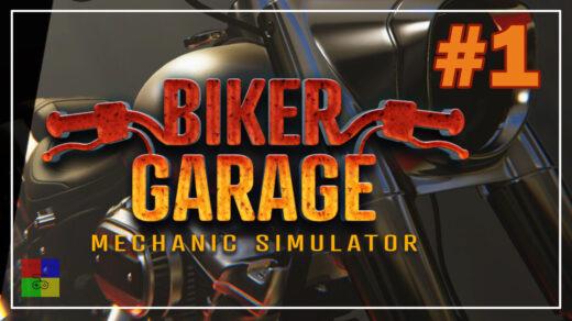 Biker-Garage-Mechanic-Simulator-прохождение-1-Первые-заказы