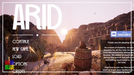 Arid-первый-взгляд-обзор