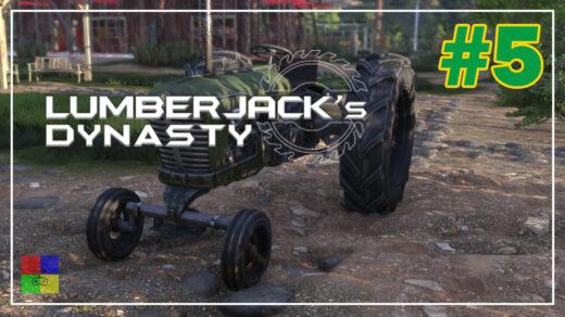 Lumberjacks-Dynasty-прохождение-5-Старый-трактор