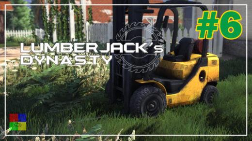 Lumberjacks-Dynasty-прохождение-6-За-погрузчиком