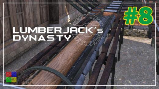 Lumberjacks-Dynasty-прохождение-8-Запустили-лесопилку